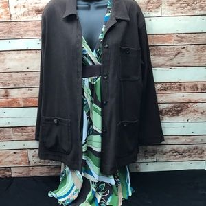 CLIO jacket & ZI dress medium stretch set Hg222